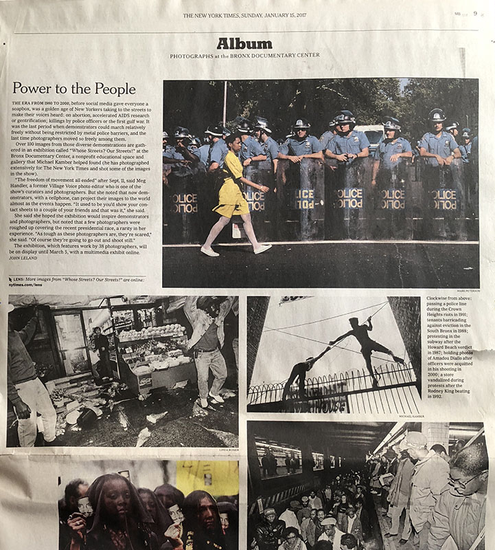 nytimes tearsheet